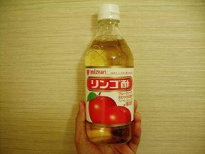 ドレッドのお手入れ リンゴ酢リンス ミツカンのリンゴ酢