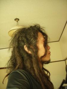 自作フリーフォームドレッド。48ヶ月。Japanese dreadlocks 48month