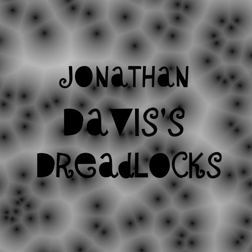 ジョナサン・デイヴィスのドレッド。Jonathan Davis's dreadlocks
