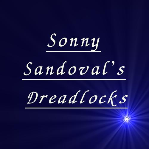 ソニー・サンドバルのドレッド。Sonny Sandoval's dreadlocks